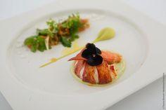 Jean-Luc Rocha's dish — at Old Billingsgate  #jeanlucrocha #dinerdesgrandschefs #relaischateaux