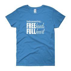Free Hands Full Heart | ladies' tee