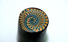 Cane spirale originale - La Pâte à Tatanne #Polymer #Clay #Canes
