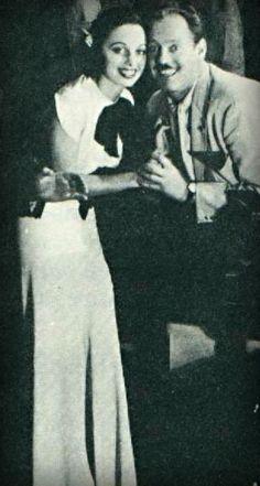 Vocalist, Ruth Gaylor and lyricist-bandleader, Eddie DeLange