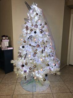 14 Best Unicorn Christmas Tree Images Christmas Trees Unicorn
