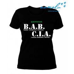Aktualnie dostępne koszulki z długim lub krótkim rękawem, w rozmiarach: S-XL+  Przed zakupem sprawdź wymiary w tabeli poniżej.  Czarna lub biała koszulka damska dla Babci. Idealna na prezent! T Shirt, Gifts, Diy, Women, Fashion, Supreme T Shirt, Moda, Tee Shirt, Presents