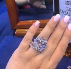 5 Stunning Wedding Ring Trends in 2020 Unusual Wedding Rings, Stacked Wedding Rings, Beautiful Wedding Rings, Diamond Wedding Rings, Bridal Rings, Diamond Rings, Wedding Finger, Wedding Ring Designs, Pear Shaped Diamond
