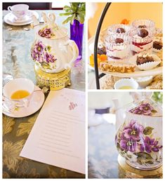 High Tea Baby Shower via Kara's Party Ideas KarasPartyIdeas.com Desserts, cake, favors, supplies, printables and more! #hightea #highteaparty #highteababyshower (2)