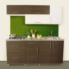 cocina blanco terra derecha cm instalacin integrales homecenter