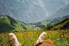Hiking trips: Schilthorn, Lauterbrunnen, Switzerland