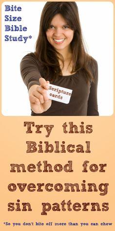 "Bite Size Bible Study: ""I Can't Change"" Bible Study"