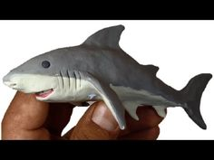 Como hacer un Tiburón de Plastilina / How to make a shark clay - YouTube