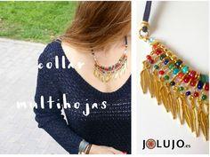 Collar Multihojas. www.jolujo.es