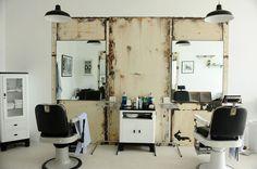 Blind Barber in Culver City, LA (secret speakeasy behind the barber shop) Barber Shop Interior, Barber Shop Decor, Shop Interior Design, Barber Store, Interior Ideas, Blind Barber, Deco Cafe, Web Design, Design Lab