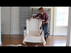 slipcover series part 4 & reveal - Miss Mustard Seed