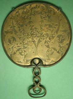 Romano Celtic mirror Desborough1 Make a Celtic Mirror