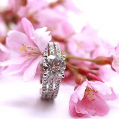 Good morning! Spring is almost here. #Vancouver #ringbling #jewellery #diamond #engagement #ring #engagementring #rings #fashion #engaged #wedding #marryme #proposal #richmond #bc #vancouverdiamonds #vancity #bridetobe #diamondring #instaring #instajewelr