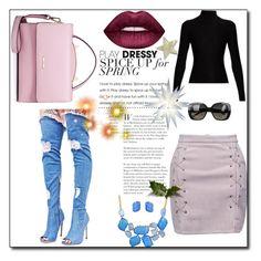 """Street Style"" by majda08 on Polyvore featuring moda, Cape Robbin, Acne Studios, Bottega Veneta, WithChic, Bling Jewelry i Lime Crime"