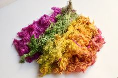 Silk Throwster Waste Needle Felting, Fiber, Silk, Low Fiber Foods, Silk Sarees, Felting