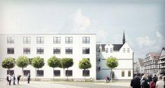 """Bauobjekt """"Am Klösterchen"""" - Neubau von 72 Pflege-Apartments in Bad Breisig - WirtschaftsHaus Gruppe - http://rheinland-pfalz.neubaukompass.de/Bad-Breisig/Bauvorhaben-Am-Kloesterchen/"""