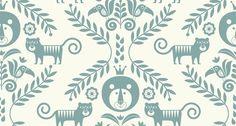 Jungle - Green - Wall Mural & Photo Wallpaper - Ingela P Arrhenius Green Wallpaper, Modern Wallpaper, Kids Wallpaper, Wallpaper Samples, Custom Wallpaper, Photo Wallpaper, Wall Wallpaper, Wallpaper Jungle, Create Your Own Wallpaper