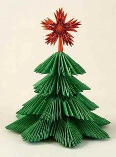 Origami Wreath, Paper Crafts Origami, Origami Paper, Christmas Paper Crafts, Christmas Origami, Christmas Sewing, Paper Flower Tutorial, Origami Tutorial, Paper Flowers Craft