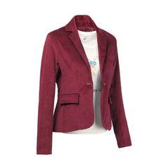 2014 Fashion plus size Women's blazer velvet one button slim short design female suits wholesale spring jackets female blaser