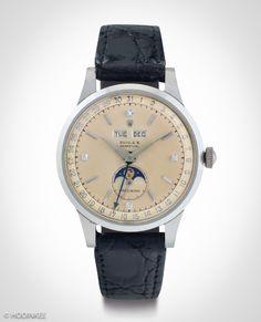 "Rolex ""Padellone"" triple calendar moonphase"