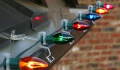 A guide for Christmas light clips,  What one's to use on what surface and how to install them