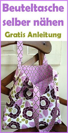 Sewing bag - free patterns and instructions - crochet, embroidery & knitting . - Sewing bag – free patterns and instructions – crochet, embroidery & knitting – # Instructions - Sewing Patterns Free, Free Sewing, Sewing Tutorials, Free Pattern, Sewing Projects, Pattern Sewing, Sewing Pockets, Diy Mode, Simple Bags