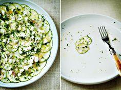 Zucchini crudo   #vegetarian #dinner