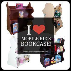#Mobile Kid's Bookcase#kids room#nursery room#baby#books#read