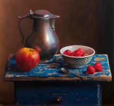 HERMAN TULP.. Classic still life (© Pictoright, Amsterdam) | 2005 | oil on panel - 38 x 41 cm ..https://www.facebook.com/herman.tulp/photos