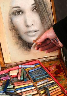 Artista / artist / arte / art / pintor / dibujante / dibujo / pintura / painting / paint / draw / drawing / Ariadna