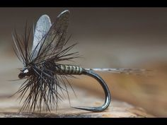 Quill Body Mayfly Fly Tying Tutorial | The Fly Fiend.