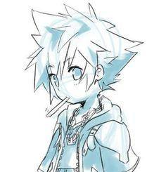 Sora the Bebe. Final Fantasy, Sora Kh, Dilly Dally, Sora Kingdom Hearts, Disney, Kawaii Chibi, Cool Sketches, Vanitas, Manga Games