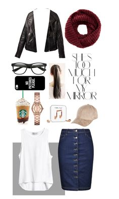 """""""Untitled #18"""" by tarf101 on Polyvore featuring Ally Fashion, TOMS, Rika, Casetify, River Island and Marc by Marc Jacobs"""
