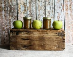 Rustic Granny Smith Apple Butter by SunchowdersEmporia on Etsy https://www.etsy.com/listing/204097205/rustic-granny-smith-apple-butter