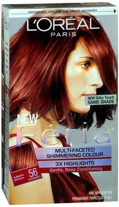 Feria Multi-Faceted Shimmering Color 3X Highlights NO. 56 Auburn Brown Thinking about this one...