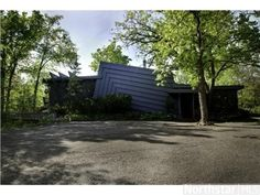 1105 N Hamilton Street, St. Croix Falls, WI 54024 — Wow! A Rare Opportunity Awaits You. One Of A Kind Contemporary Home Overlooking The St.Croix River. Wooded Lot, Deck, Stunning Views. Lr  Br W/Fplc. Vaults,Sauna,Hot Tub, All Furnishings Negotiable. Lg Deck.