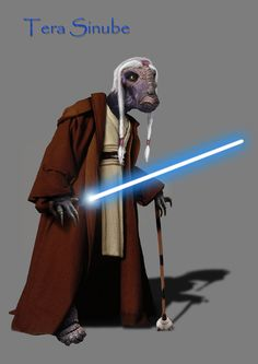 Tera Sinube, a Jedi Investigator. and authority on the crimeworld of Coruscant, a planet/city of 2,000,000,000,000 sentient beings, 2 trillion.