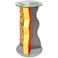Ivory Pedestal by Ettore Sottsass for Memphis Milano