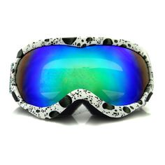 Professional Snowboard Goggles Snow Ski Glasses Anti Fog UV-Protection Double Lens Airsoftsports Case Outdoor Online Shopping