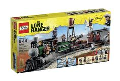 The Lone Ranger Lego Sets - Get one for Christmas 2013