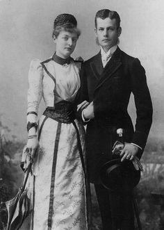 Prince Maximilian and Her Imperial and Royal Highness Princess Margarete of Thurn and Taxis, married July 15, 1890 From pinterest.com:hansatingsuwan:royals-fiancée-engagement: