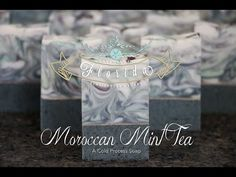 The Making and Cutting of Moroccan Mint Tea Cold Process Soap, Handmade in Florida - YouTube