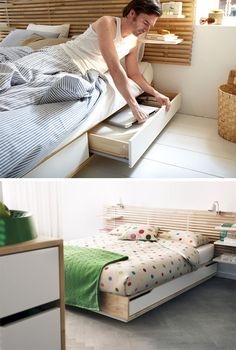 40 Insanely Bed Storage Ideas for Small Spaces   Art Lovers