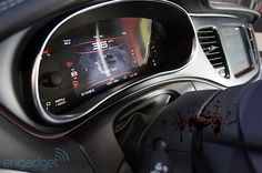 Upcoming Digital Dashboard! from engadget. Did anyone notice the blood in the bottom right have of the pic