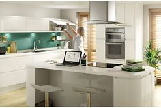 Cooke & Lewis Appleby White | Kitchen Ranges | Kitchen | Rooms | DIY at B&Q
