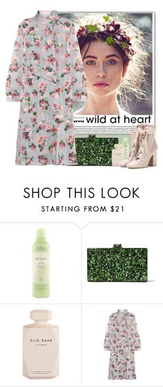 """""""Dreaming of Spring"""" by crblackflag ❤ liked on Polyvore featuring White Label, Aveda, Edie Parker, Elie Saab, Topshop Unique, Valentino and floralprintdress"""