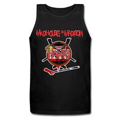 B&LAN Men's Slayer Chicago Blackhawks Logo Vest Tank-tops ** Visit the image link more details.