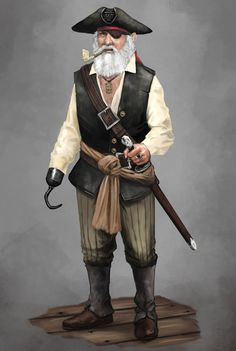Old Pirate by Seraph777 on DeviantArt
