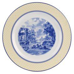 Spode - 'Giallo' Collection, Earthenware - Round Platter