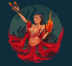 Lalahon, my diwata fanart from the filipino epic series, Indio. She is the goddess of fire and volcanoes. Lalahon possesses the power to control fire using her hands, create balls of fire and explosives. She can also manipulate and command. Philippine Mythology, Philippine Art, Filipino Art, Filipino Culture, Mythological Creatures, Mythical Creatures, Legends And Myths, Divine Mother, Sacred Feminine